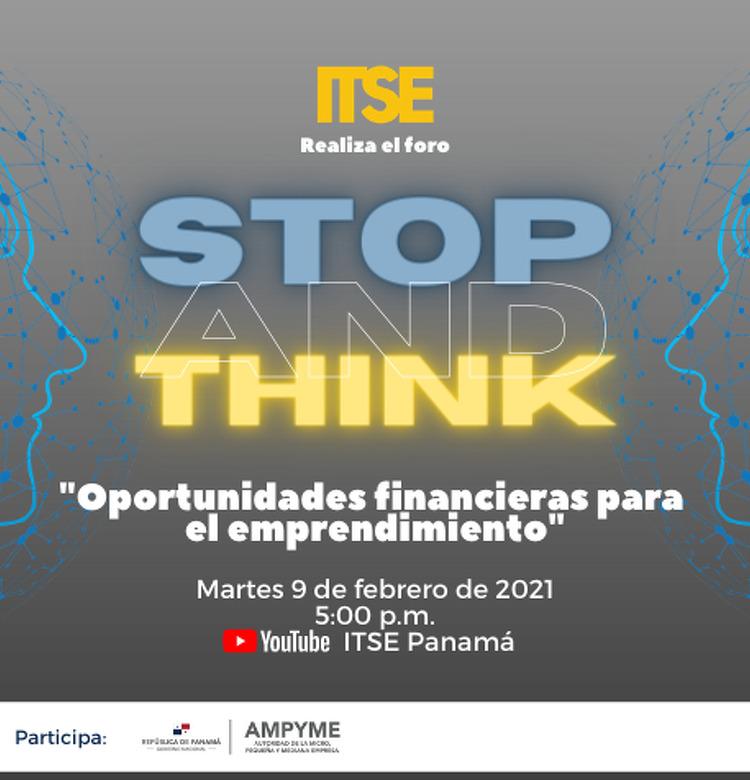 Imagen de portada Stop & Think - Emprendimiento