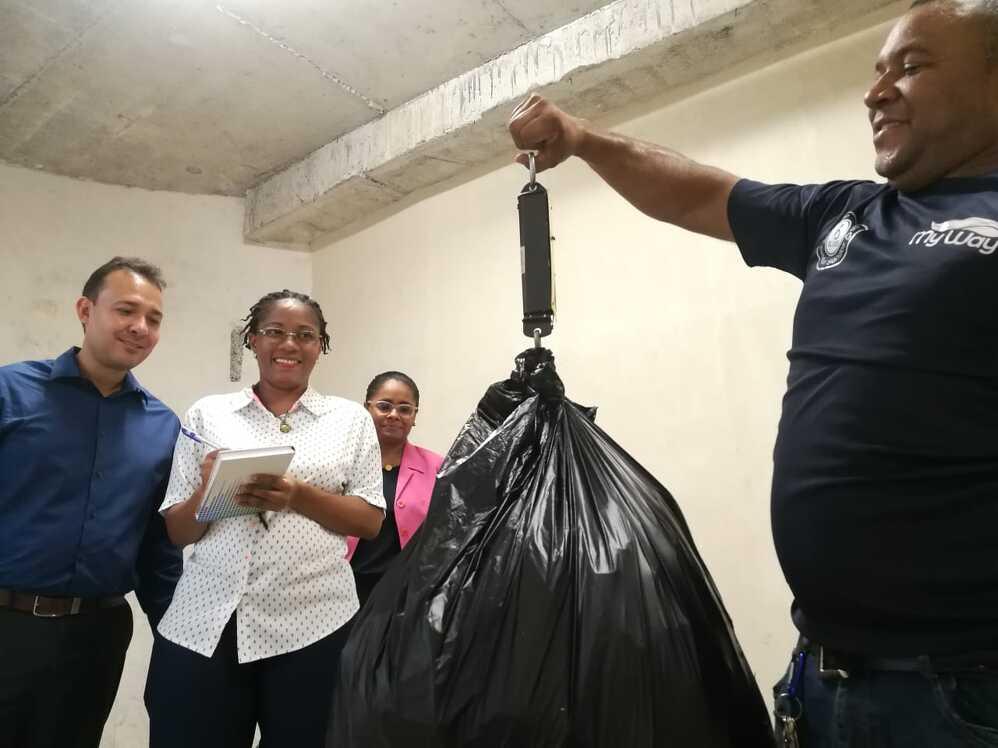 Imagen de portada El ITSE selecciona más de 64 kilos de material reciclado y avanza en su plan de sostenibilidad ambiental